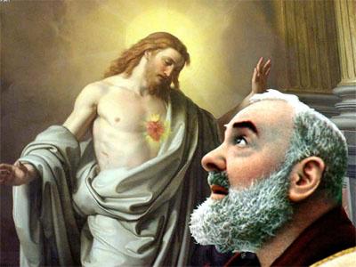 San Pio e l'assalto del demonio